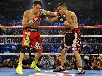 ラスベガスの将来を担う2人のメキシカン。~米ボクシング界を席巻する新星~<Number Web> photograph by Getty Images