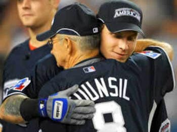 球宴の本塁打競争で恩返ししたハミルトン。<Number Web> photograph by Yukihito Taguchi