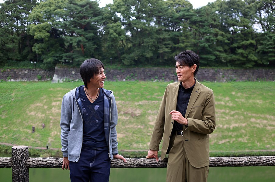 46歳でも進化するカミカゼ葛西紀明。鏑木毅も驚いた100%の「落ちろ!」。<Number Web> photograph by Shin Hamada