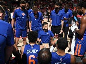 """日本人初! NBAサマーリーグでヘッドコーチを務めた吉本泰輔の""""一歩前進""""「バスケットボールを違う面から見ることができた」"""