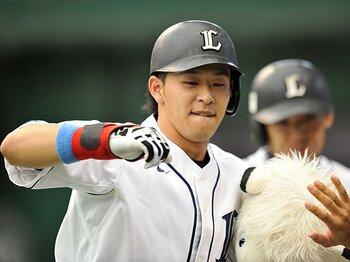 """浅村栄斗の打点王獲得は""""意外""""。高校時代からのムラが消えた理由。<Number Web> photograph by Hideki Sugiyama"""