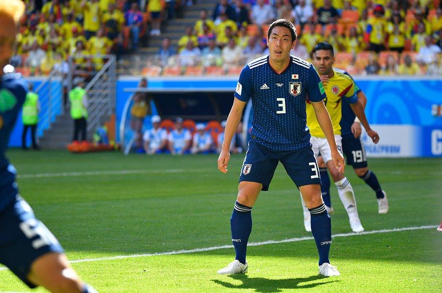 昌子源がW杯初戦で貫いた信念。誰よりも「何が何でも守りきる」。<Number Web> photograph by Asami Enomoto/JMPA