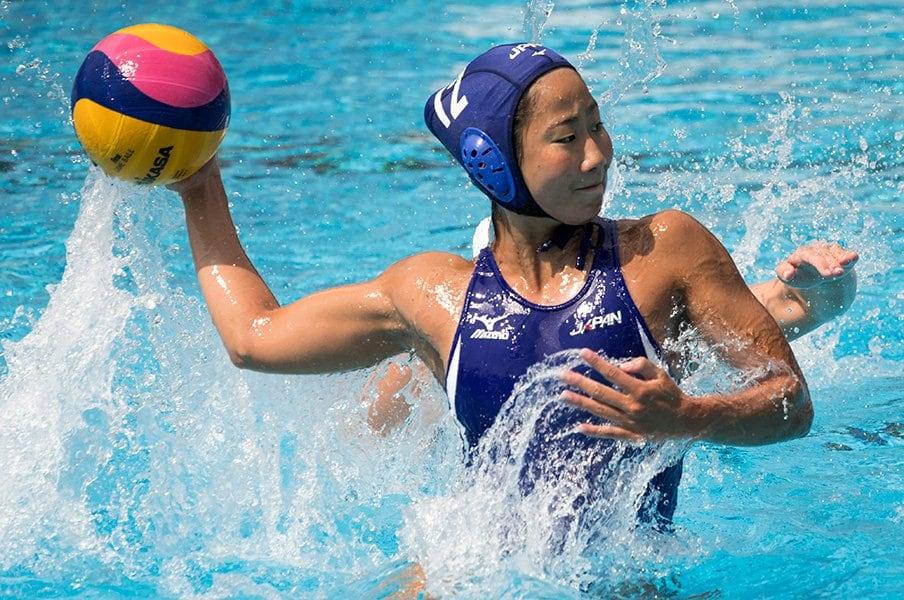 開催国枠で五輪初出場の水球女子。注目度アップへ千載一遇のチャンス!<Number Web> photograph by AFLO