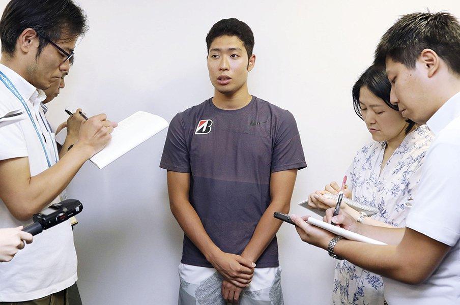 """萩野公介のメンタルが戻ってきた。""""水泳が嫌""""から「もっと泳ぎたい」。<Number Web> photograph by Kyodo News"""