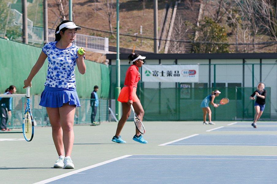テニス国際大会が4月まで日本で連続開催。富士薬品が与えたインパクトとは?<Number Web> photograph by Shigeki Yamamoto