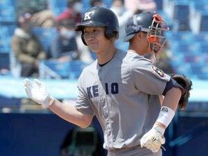 【ドラフト中間予想】野手部門1位正木智也(慶応大)、本人に聞く「早川さん(楽天)から打った二塁打がきっかけだった」