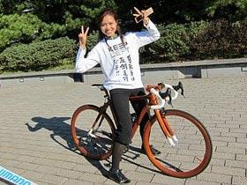 自転車女子やカップルも増えた!ブームを実感「東京アースライド」