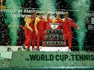 """スター集結のデ杯でスペインが優勝。""""夢の球宴""""新フォーマットの中身。"""