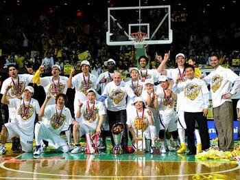 JBLとbjリーグの統合は本物なのか?日本バスケットボール界の起死回生。<Number Web> photograph by AFLO