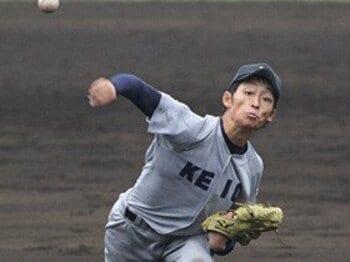 慶応大と慶応高の不思議なギャップ。――打者走者は全力疾走すべきである。<Number Web> photograph by Akane Ohara