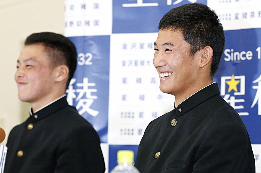 2019年ドラフト査定!<セ編>奥川恭伸指名のヤクルトが最高点。<Number Web> photograph by Kyodo News