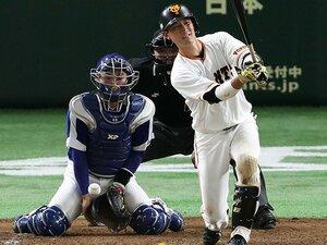 小林誠司が迫る史上最低打率の偉業。規定打席達成で1割台なら35年ぶり。