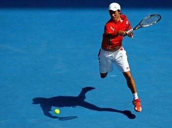 錦織圭の全豪ベスト8でブーム再燃!?トップ4選手に見るテニスの英才教育。<Number Web> photograph by Getty Images