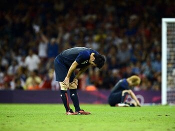 完全に韓国の術中にハマった日本。U-19、五輪、2大会連続敗北の現実。 <Number Web> photograph by Naoki Ogura/JMPA