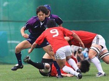 新人早明戦の大差をどう受け止めるか。~「96対0」で紫紺軍団復活!?~<Number Web> photograph by Nobuhiko Otomo