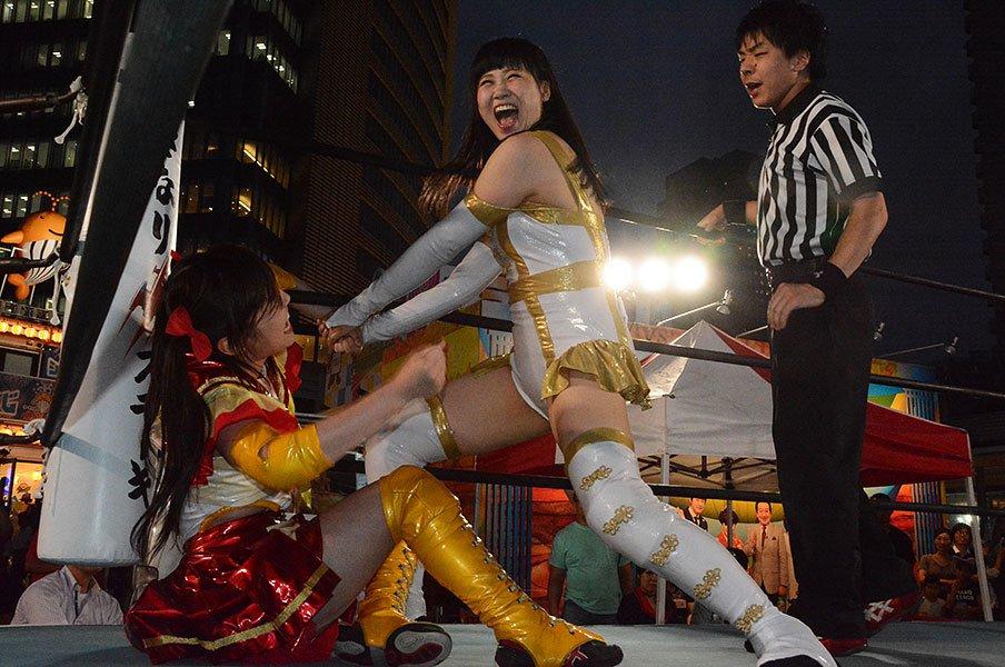 """東京女子プロレスが人気上昇中!キーワードは""""等身大""""への感情移入。<Number Web> photograph by Norihiro Hashimoto"""
