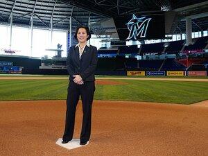 メジャー史上初の女性GMが目指す「マイアミに栄冠を」