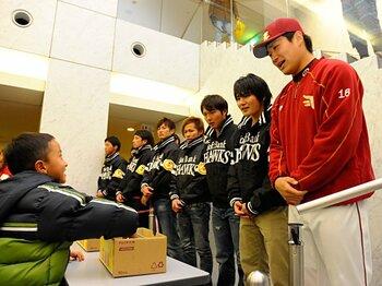 スポーツ界と復興支援。~震災から10カ月で何ができたのか~<Number Web> photograph by Toshiya Kondo