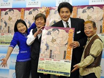 """2年ぶりの大阪春場所で""""金と名誉""""を掘り起こせ。~担当部長・貴乃花親方の奮闘~<Number Web> photograph by KYODO"""