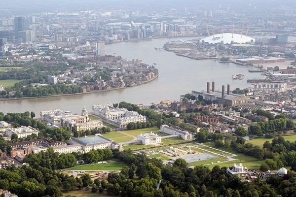 <ロンドン五輪2012> 馬術の会場、世界遺産グリニッジ・パーク