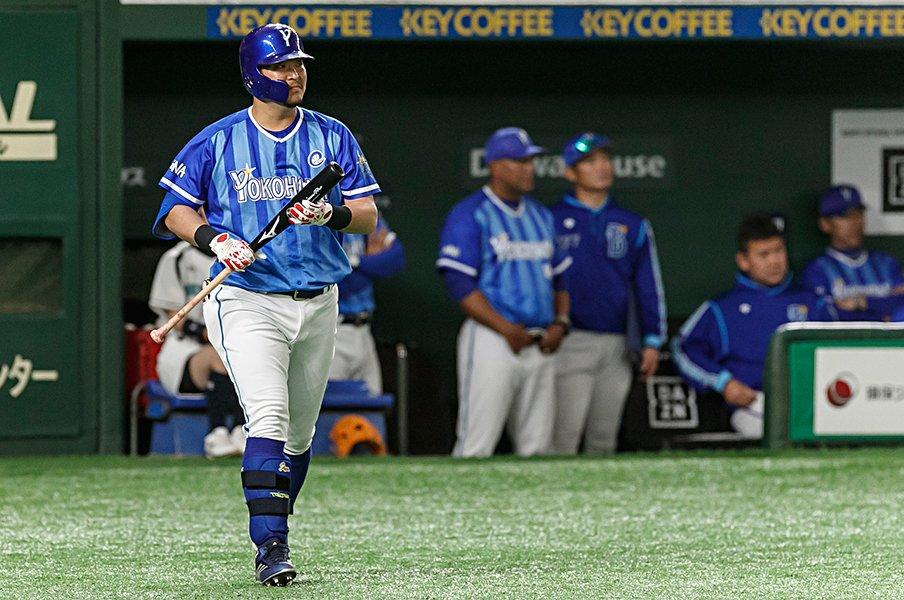 異彩の2番・筒香嘉智が誕生の理由。最強打者説と出塁率、DH制なし。<Number Web> photograph by Kiichi Matsumoto