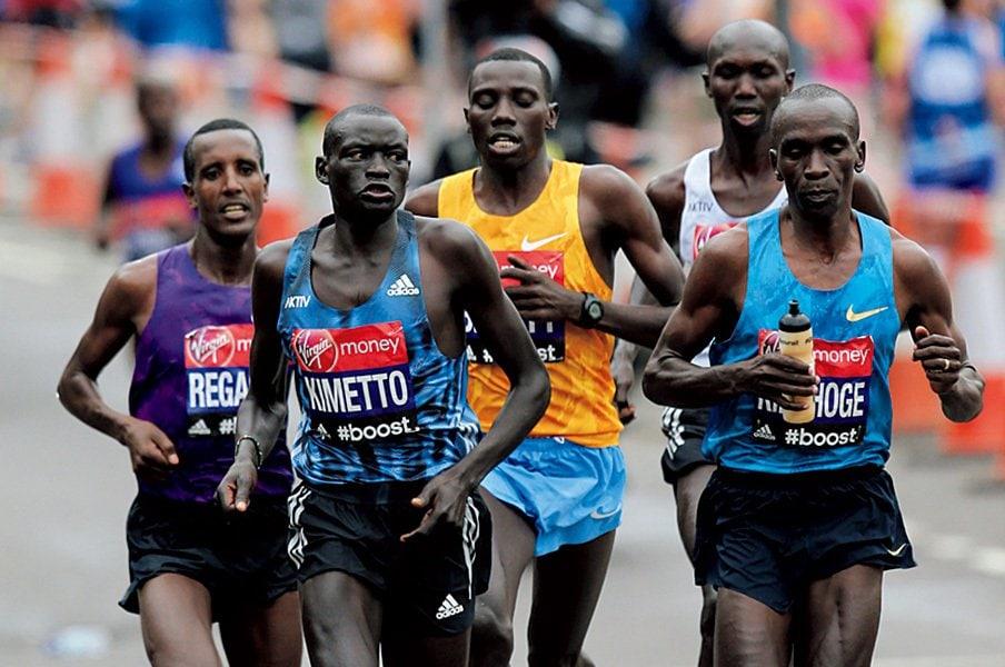マラソン世界新記録2時間2分22秒が出る日は遠くない。<Number Web> photograph by AFLO