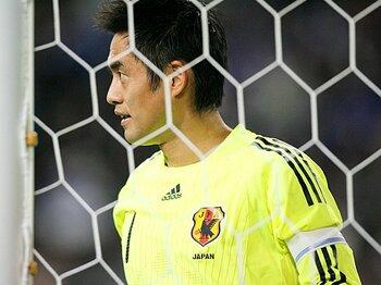 """サッカー日本代表、""""奇跡""""の代名詞。川口能活は南アをまだ諦めていない!<Number Web> photograph by Tamon Matsuzono"""