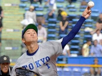 """社会人野球の""""ステップ""""もアリ!?宮台康平に勧めたい険しい我慢の道。<Number Web> photograph by Kyodo News"""