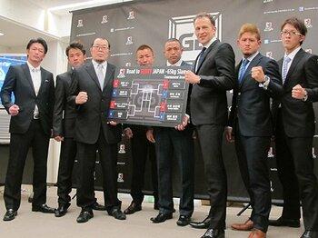 記者会見では、JAPAN SLAMの優勝賞金は2万ドル(約186万円)と発表された。