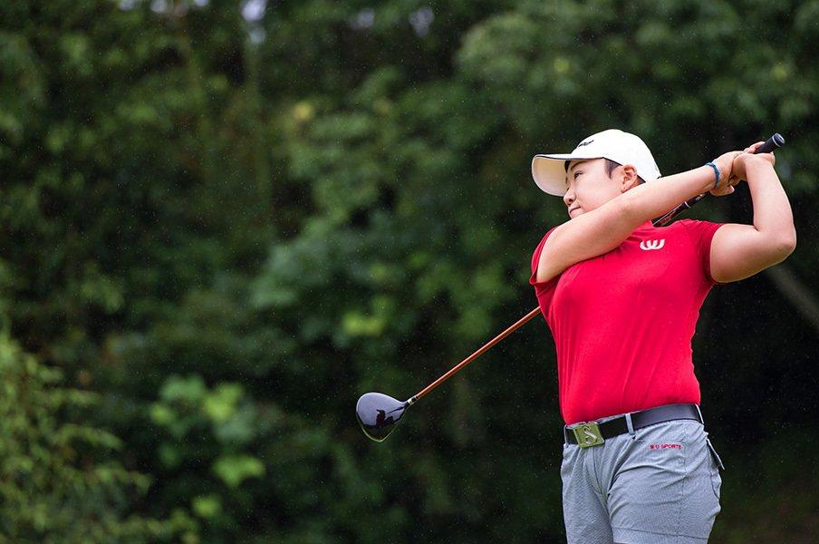 「11年目の野望」。申ジエが目指す、強いゴルフとそれを支える人たち。<Number Web> photograph by Nanae Suzuki