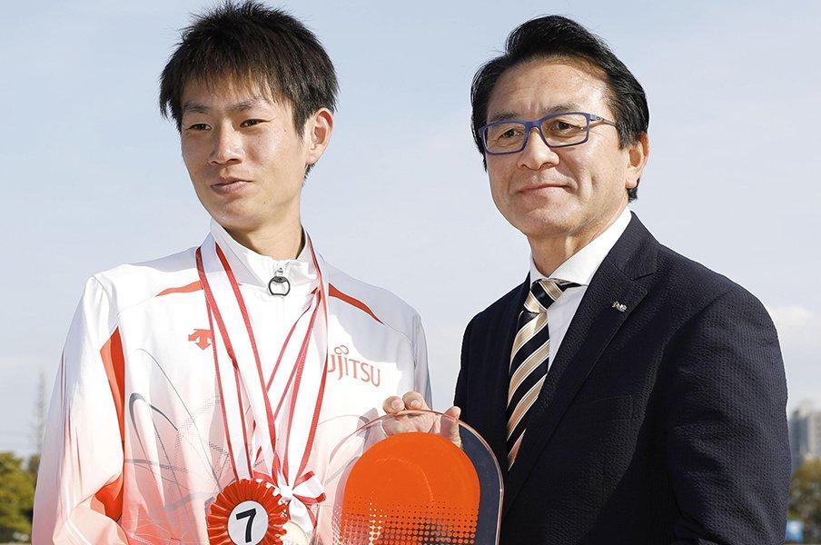 瀬古利彦が語るMGC成功の理由。長期的な練習、1億円、一発勝負。<Number Web> photograph by Kyodo News