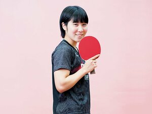 日本卓球界ニューヒロインの決意。平野美宇「絶対的なエースになる」