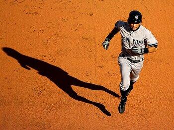 """生還する力。~イチローの偉大な""""得点力""""~<Number Web> photograph by Getty Images"""