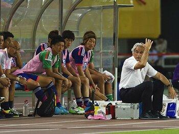 東アジア杯で「結果」を追う無意味さ。テストに徹せず、韓国と空しいドロー。<Number Web> photograph by Takuya Sugiyama