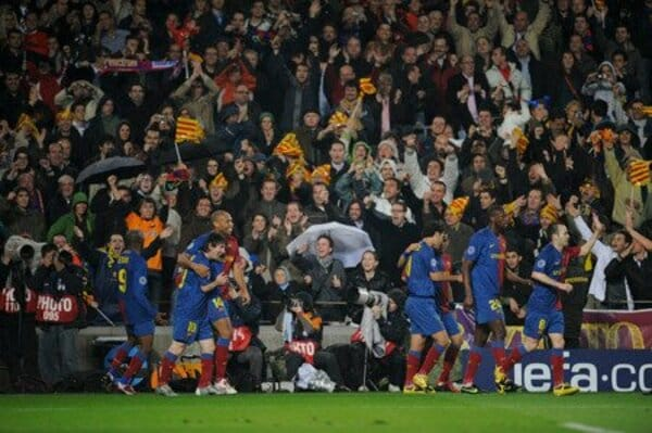 バルセロナがバイエルンを踏み潰す  チャンピオンズリーグ ベスト16 ファーストレグ