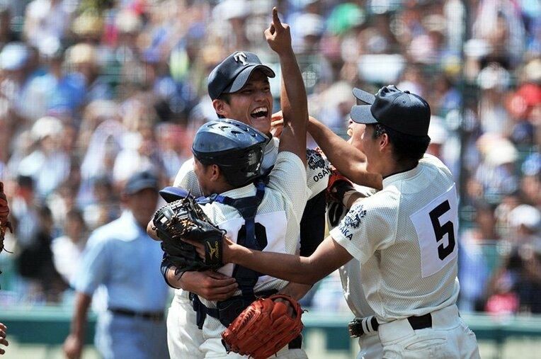 藤浪晋太郎/大阪桐蔭 / photograph by Hideki Sugiyama