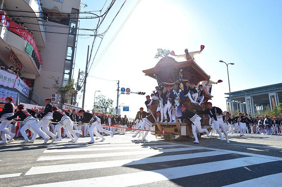 清原和博、もう1つの原点。岸和田だんじり祭、潜入取材を終えて。<Number Web> photograph by Takashi Shimizu