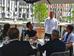 中田英寿がヴェネチアで楽しんだ、日本酒とイタリア料理のマリアージュ。