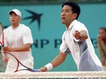 稀なるダブルス専門家、トーマス嶋田が引退へ。<Number Web> photograph by Hiromasa Mano