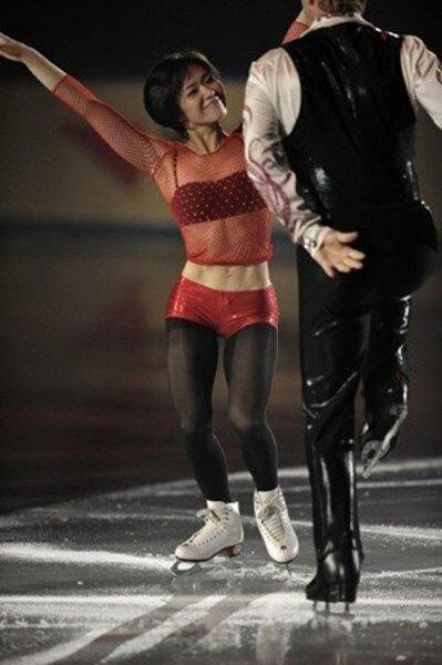 2008フィギュアスケートグランプリシリーズ NHK杯 ペア エキシビジョン