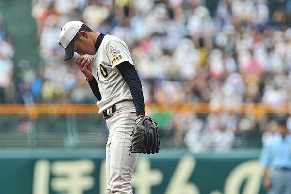 <夏の甲子園2011> 東洋大姫路のエース、原樹理