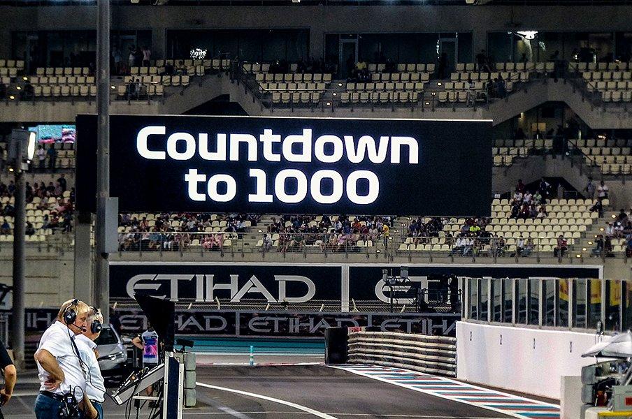 2019年はF1通算1000戦イヤー。節目のレースを彩った名手列伝。<Number Web> photograph by Masahiro Owari