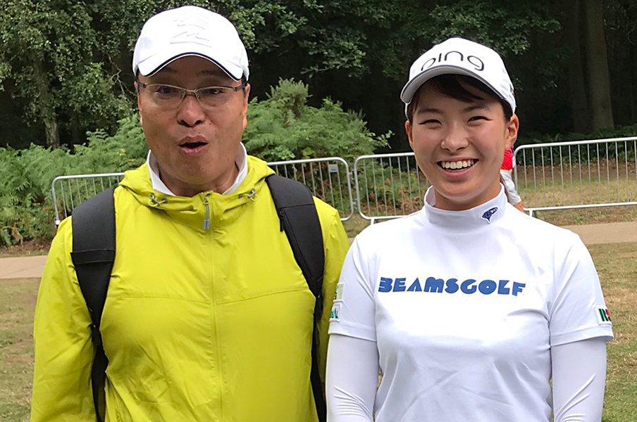 シブコとRSK山陽放送の幸福な関係。「プロになったらウチに所属してね」【2019年下半期 ゴルフ部門3位】<Number Web> photograph by RSK