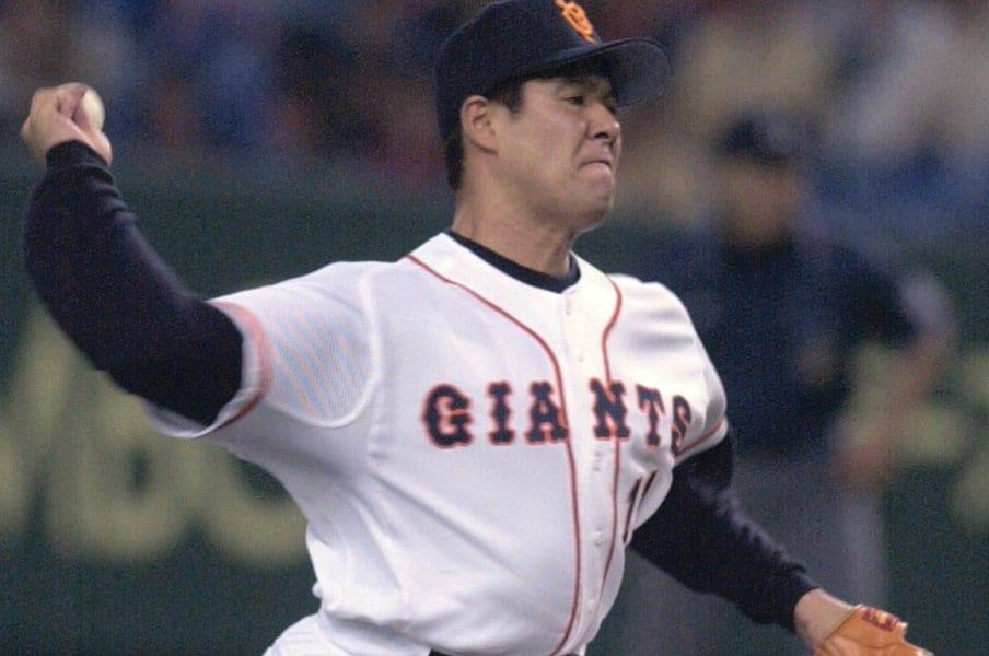 斎藤雅樹はとんでもなく凄かった。人のいい気弱な若者が遂げた変身。<Number Web> photograph by Kyodo News