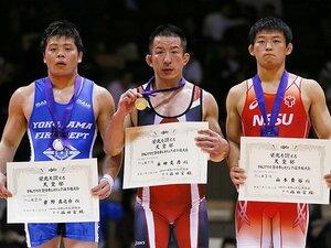 11年ぶりのレスリング復帰戦で優勝。永田克彦が我が子に見せた父の背中。