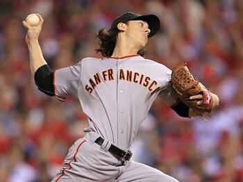 沈着な長髪投手としたたかなGM。~SFジャイアンツの大いなる魅力~<Number Web> photograph by Getty Images