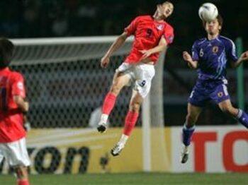 アジアカップ VS.韓国<Number Web> photograph by Takuya Sugiyama