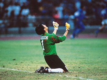 平成日本サッカーの夜明け(1)1992年の西野朗と韓国の高い壁。<Number Web> photograph by AFLO