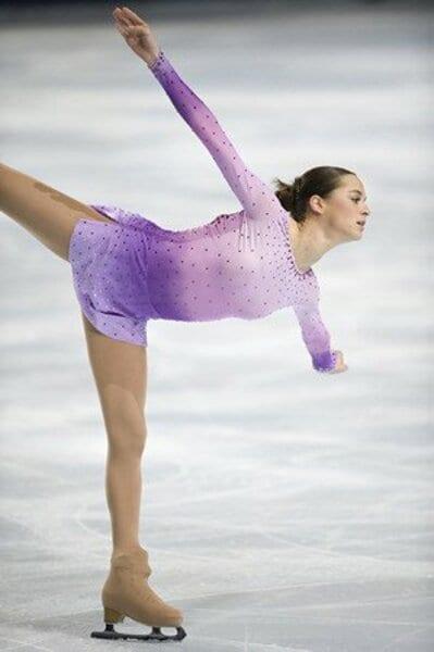 2008フィギュアスケートグランプリシリーズ第4戦パリ大会 女子シングルフリー