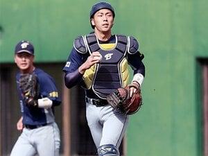 2018ドラフトの稀少な捕手を発見。スカウト注目の上武大・吉田高彰。
